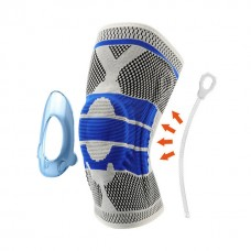Silicone Spring Kneepad Knee Brace With Side Stabilisers