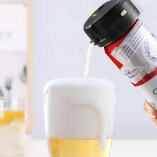 Draft Beer From A Can! Portable Beer Foamer Maker