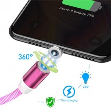 Glow When Charging Magnetic Charging Cable iPhone, Samsung & Android Compatible