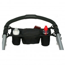 Baby Buggy Organiser And Cup Holder