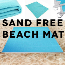 Sand-Free Beach Blanket Also Perfect For Picnics, Camping and Festivals.