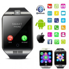 Q18 Bluetooth Smart Watch Q18 With Camera, MP3 IOS Android