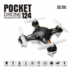 RC Micro Pocket Mini Helicopter Drone Toy Quadcopter