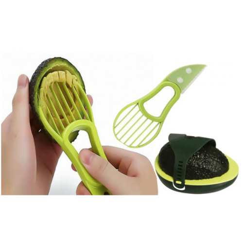 3-in-1 Avocado Tool with Avocado Keeper