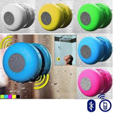 Bluetooth Shower Speaker with Mic & Controls