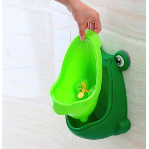 Wall-Mounted Frog Potty Training Urinal