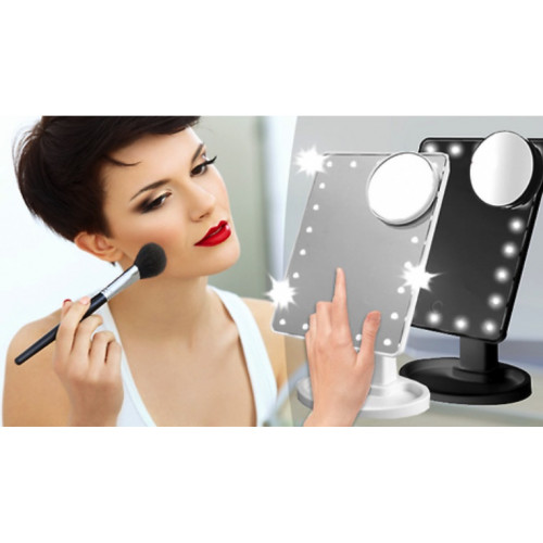 Touch Screen LED Make-Up Mirror