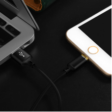1m Magnetic Cable USB-C Type-C or Lightning Data Charging Cable For Samsung Xiaomi Huawei iPhone